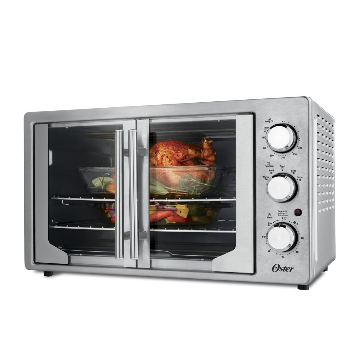 Amazon.com: Oster TSSTTVFDXL Manual French Door Oven, Stainless Steel: Kitchen & Dining