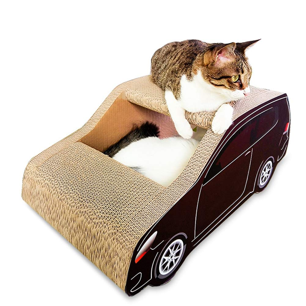 Aida Bz Corrugated Paper Cat Scratch Board Suv Cat Litter Green Paper Products Cat Claws Climbing Frame