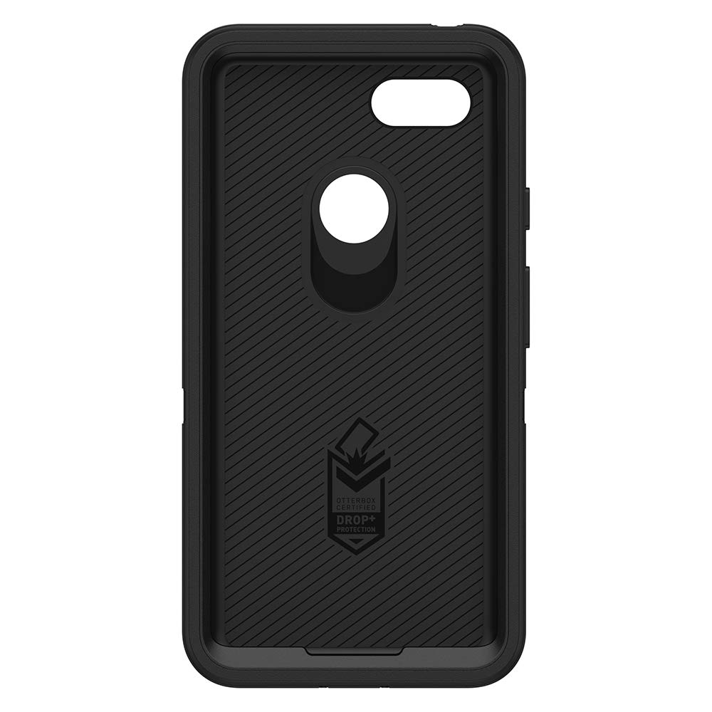 OtterBox Defender Series SCREENLESS Edition Case for Google Pixel 3 XL - Retail Packaging - Black by OtterBox (Image #3)