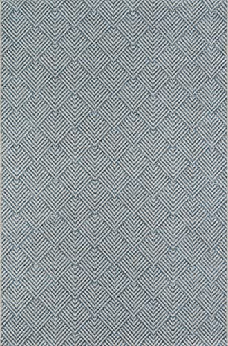 Nolita Rugs Tahla Polypropylene Blue Area Rug 7'10″ X 10'10″