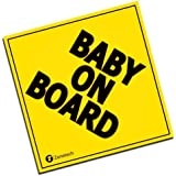 Zone Tech Baby On Board MAGNET - safe caution safety sign children magnetic