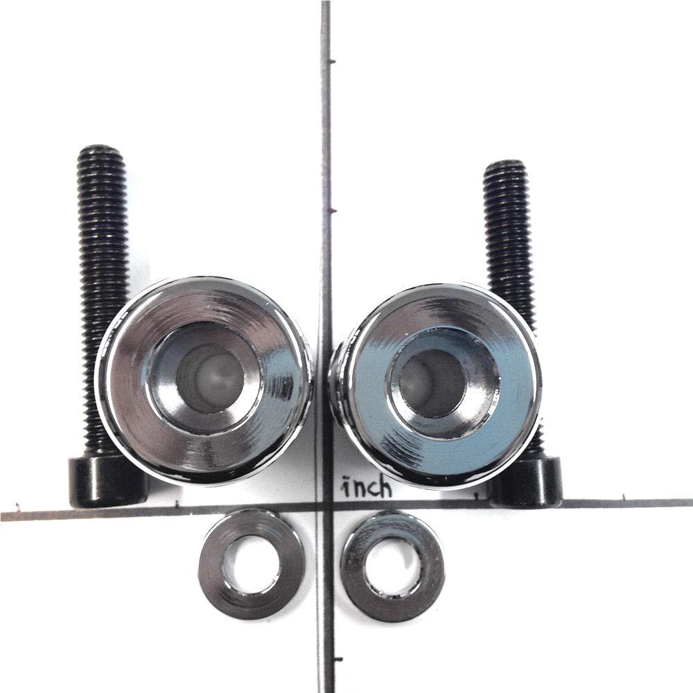 Carbon Swingarm SpoolsGSXR Engraved Logo 8mm Thread Compatible with Suzuki GSXR 1000 2001-2012// GSXR 1100 1992-1998// GSXR 600 1992-2011// GSXR 750 1992-2011// GSX 1300R Hayabusa 1999-2011 HTTMT MT221-005