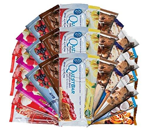 Bundle- pack 36 Quête Bar Variété (3 de chaque)
