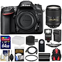 Nikon D7200 Wi-Fi Digital SLR Camera Body with 18-300mm VR Lens + 64GB Card + Backpack + Flash + Battery/Charger + Kit Advantages Review Image