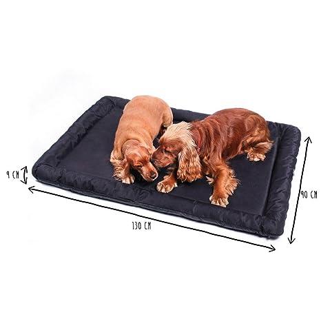 MYANIMALY Animaly Cama para Perros, Impermeable Y Antiarañazos Color Negro, XL 1 Unidad 2300 g