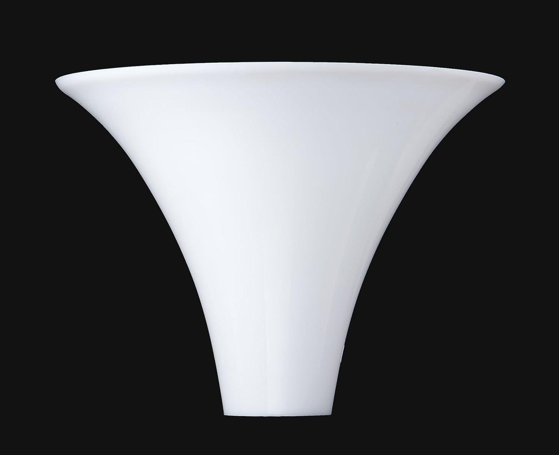 B P Lamp 10 Opal Glass Torchiere Lamp Shade Amazon Com