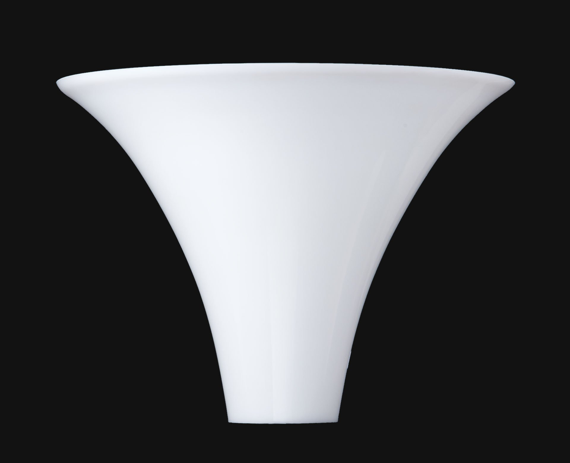 B&P Lamp 10'' Opal Glass Torchiere Lamp Shade