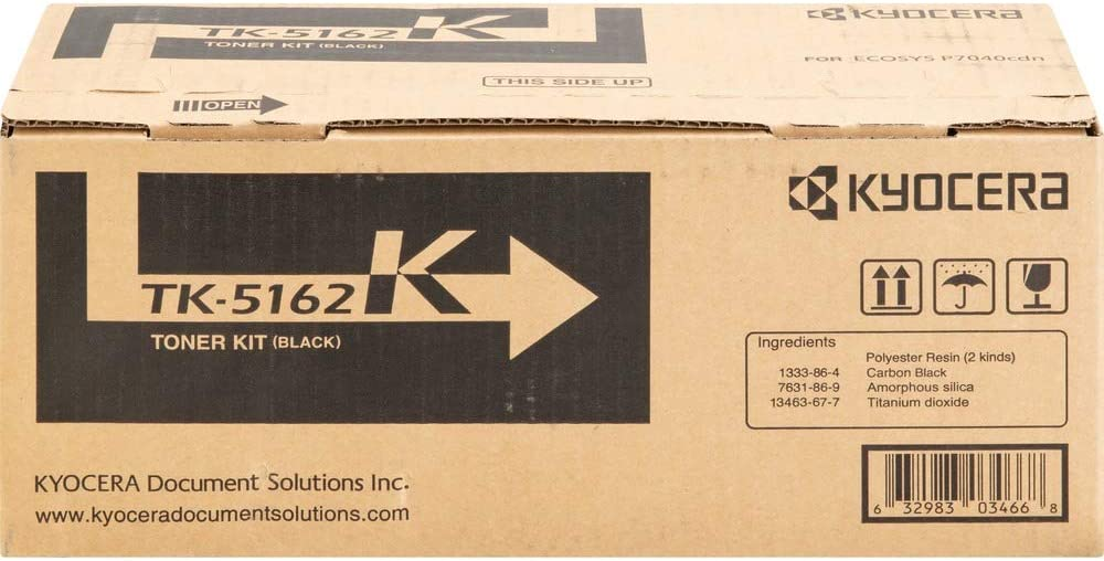 Toner Cartridge Original for ECOSYS P7040cdn P7040cdn//KL3 Cyan Kyocera TK 5162C