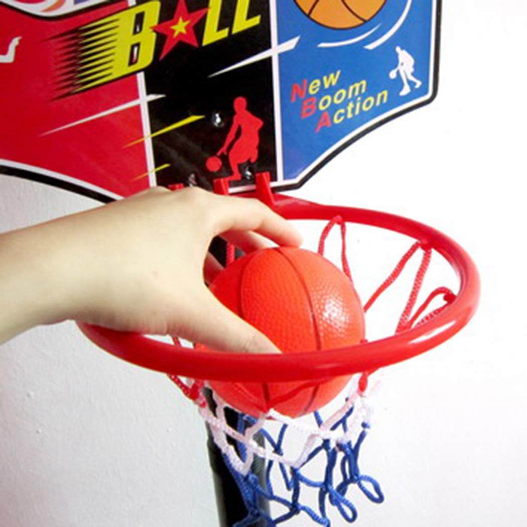 Kids Adjustable Basketball Hoop Board Ball Set Indoor Outdoor PlaySet Game