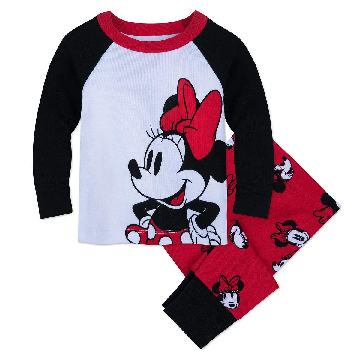 Disney Minnie Mouse PJ PALS for Baby Size 9-12 MO Multi