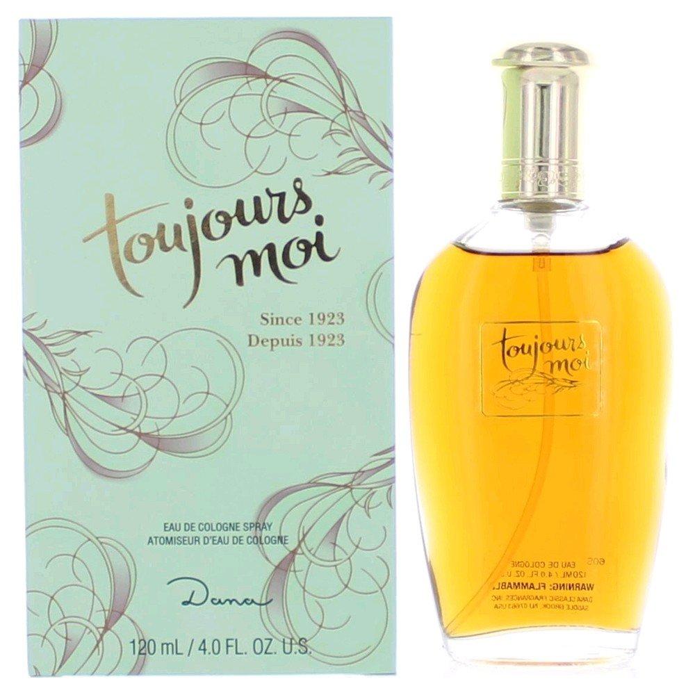 Toujours Moi by Dana for women Eau De Cologne Spray, 4 Ounce