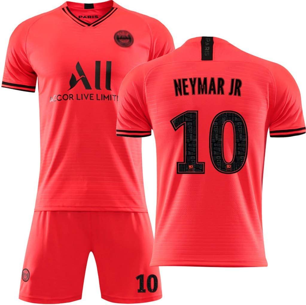 LASERIPLF 2019-20 Paris Mbapp/é Neymar Fu/ßball Trikot Kit Herren Kinder Jersey Shorts T-Shirt Langarm New Season JR Club Team Fu/ßball Trikot Set