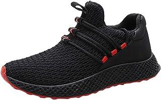 HCFKJ Scarpe Sportive Sneaker Scarpe Sportive tessute Volanti degli Uomini di Modo Scarpe da Corsa studentesche Traspiranti Casuali