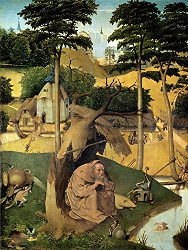 Doppelganger33 Ltd Hieronymus Bosch Temptation Of St Anthony (bosch) Old Painting Canvas Art Print