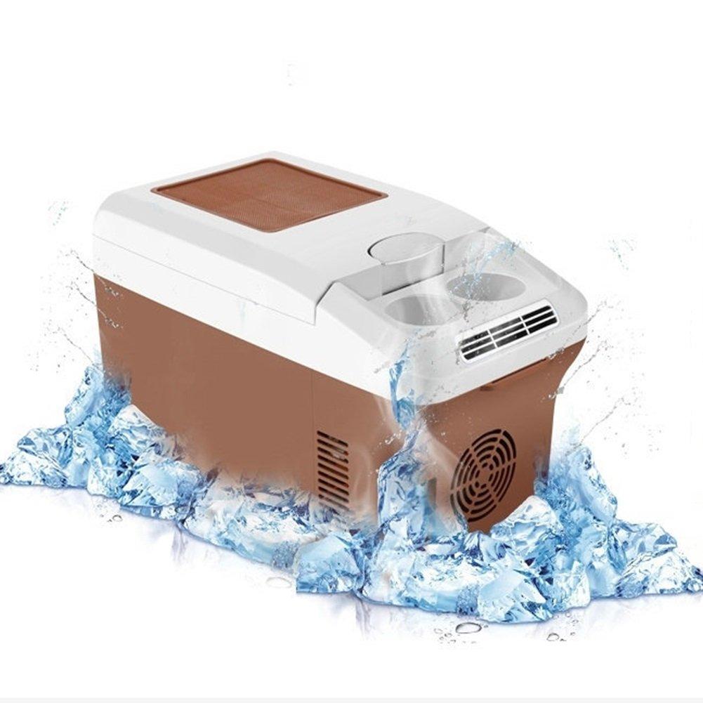 LIQICAI 15L Elektrische Kühlbox Tragbar Temperatur Tragegurt Auto Und Zuhause Minikühlschrank Erhitze, Intelligente Digitalanzeige Temperatur Tragbar Einstellbar, Accueillir 320 ml  22 Boîtes. (größe   A) f3cdff