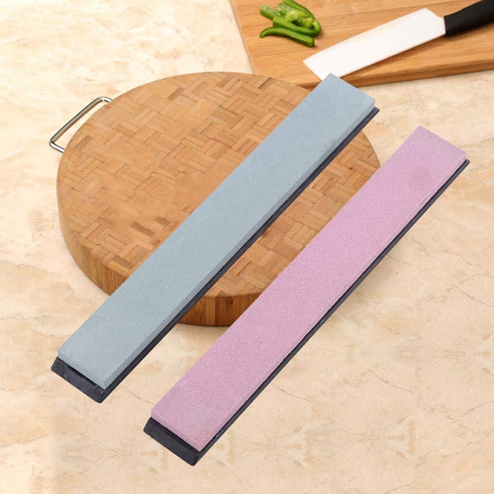Pierre /à aiguiser , Pierres /à aiguiser 8 tailles de grains diff/érentes Outils de cuisine Taille-crayon de rechange Meule /à polir