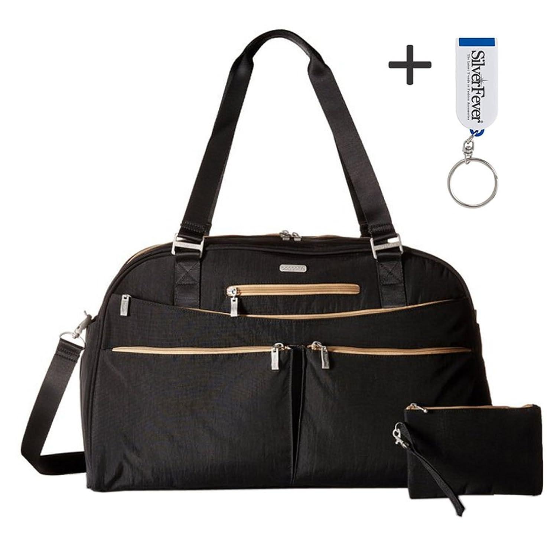 Baggallini Carry All Duffle Weekender Handbag Key Fob & Chain