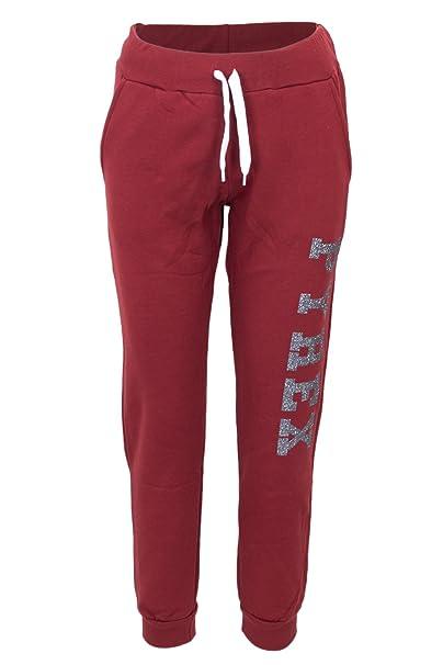 63115f6db7ad Pyrex Donna Pantaloni Felpa Glitter 34237 Color: Amazon.it: Abbigliamento