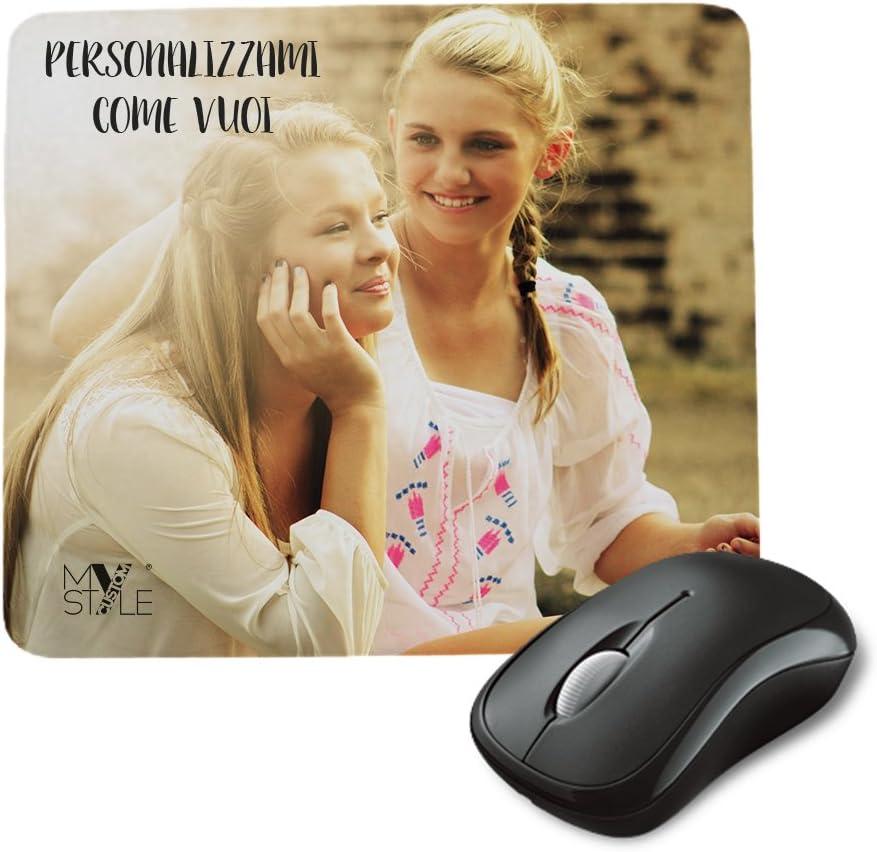 My Custom Style Tappetino Microfibra ultraslim 1mm Personalizzabile da 17,5x23cm