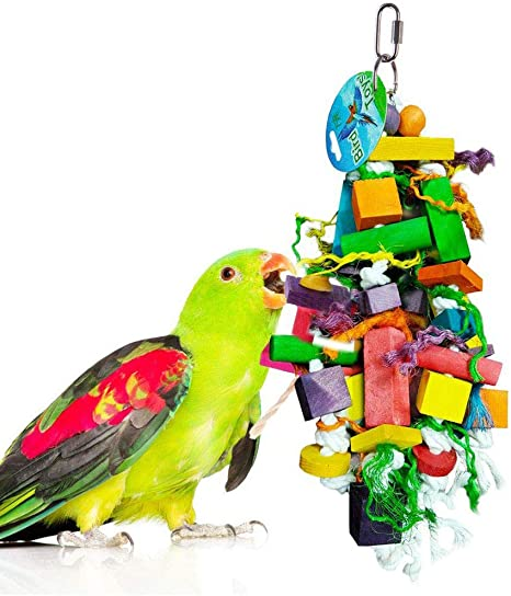 PARROT TOY LARGE BIRD TOY BOREDOM BUSTER CAGE TOY LARGE plastic climbing toy