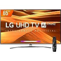 Smart TV LED PRO 65'' Ultra HD 4K LG 65UM761C0SB.BWZ 4 HDMI 2 USB Wi-Fi Conversor Digital