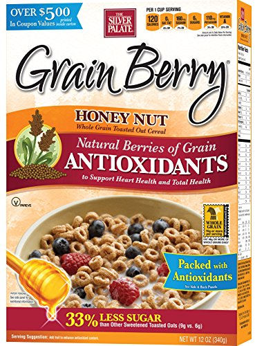 Grain Berry Honey Nut Toasted Oats, 12 Ounce