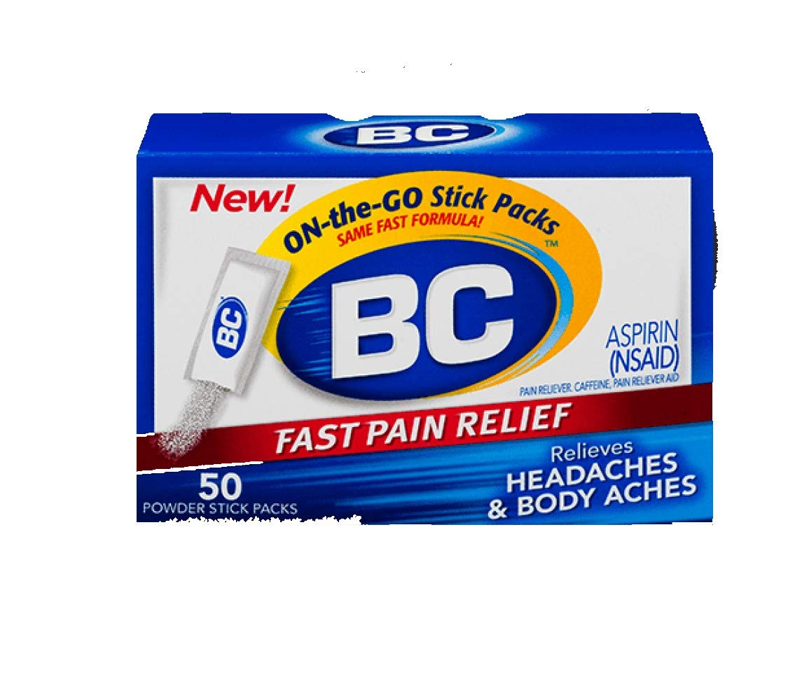 BC Original Formula Aspirin Fast Pain Relief Powders 24 ea (Pack of 6) by BC Powders