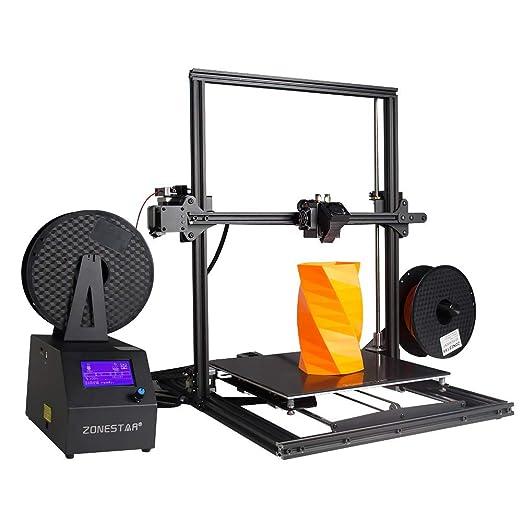 ZMM Impresora 3D con la impresión del Mezclar-Color, diseño Dual ...