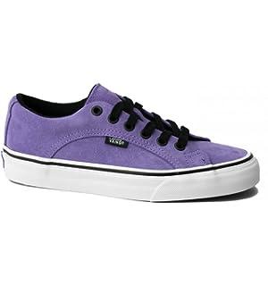 bdb5cf4e65b1 Vans Lampin Mens 11 Suede Montana Grape True White Purple Skate Shoe