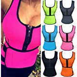 KIWI RATA Neoprene Corset Slimming Shaper Vest Hot Sweat Shirt,Sauna Suit,Sauna Tank Top,Curves Shapers,Body Waist Cincher for Weight Loss