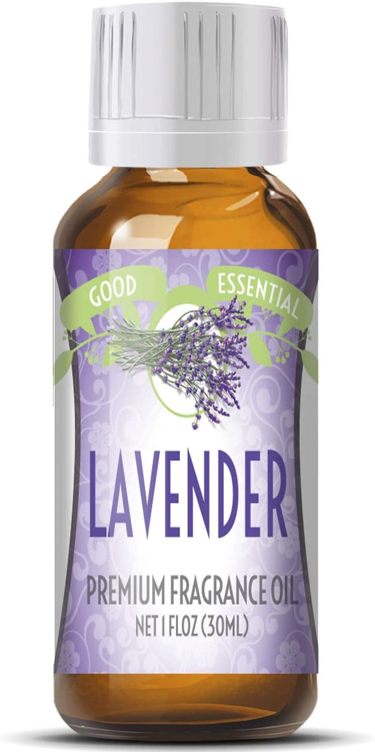 Lavender Scented Oil by Good Essential (Huge 1oz Bottle - Premium Grade Fragrance Oil) - Perfect for Aromatherapy, Soaps, Candles, Slime, Lotions, and More!
