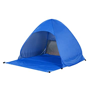 OUTAD Sun Shelter Anti UV Beach C&ing Shade Tent SPF 50+ Unfolded  sc 1 st  Amazon.ca & OUTAD Sun Shelter Anti UV Beach Camping Shade Tent SPF 50+ ...