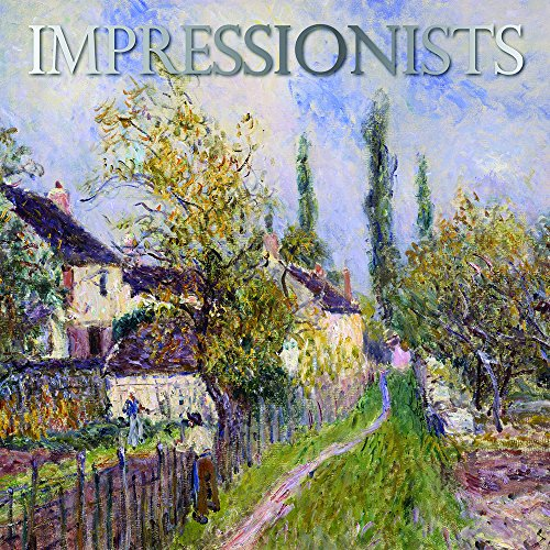"Famous Impressionists Artistic Paintings 2017 Monthly Wall Calendar, 12"" x 12"""