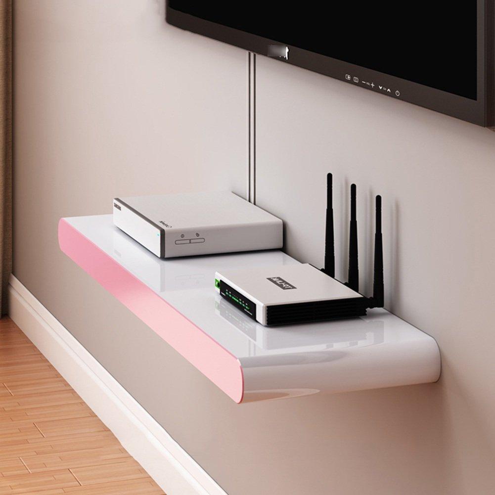 LIANGJUN 壁掛け棚 木製 リビングルーム 背景壁、 使用可能な9種類 ( 色 : 60X20cm-pink ) B07BHN63L6 22630 60X20cm-pink 60X20cmpink