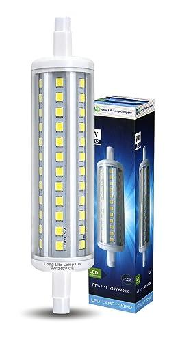 J118 led replacement energy saving security pir flood light bulb j118 led replacement energy saving security pir flood light bulb r7s j118mm led 9w cool aloadofball Image collections