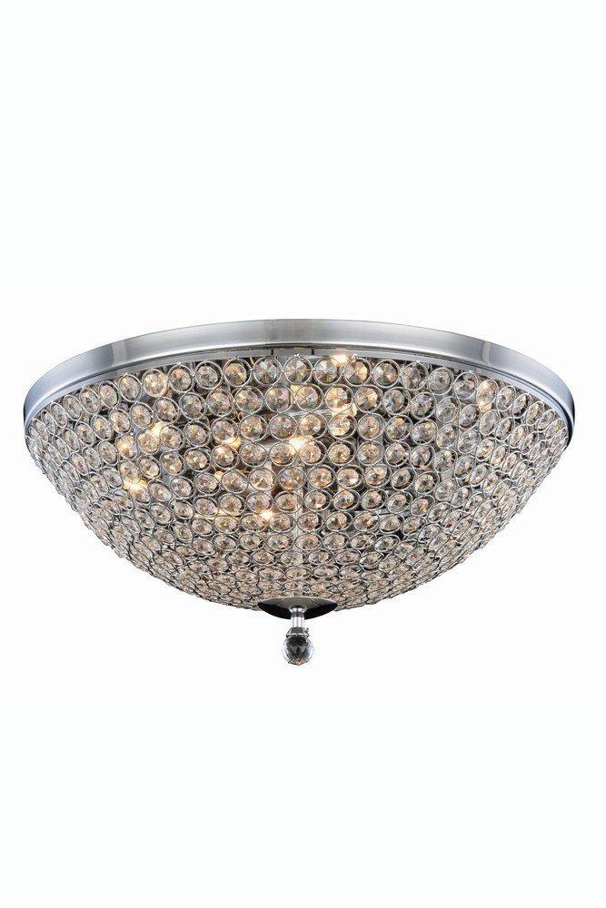 エレガントな照明2106 F21 C / RC Bridaコレクションフラッシュマウントd21.7