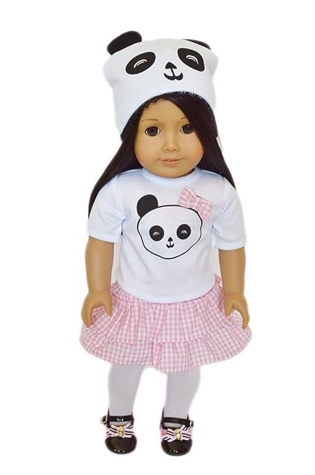 Amazon.com: Panda traje con sombrero incluido para American ...