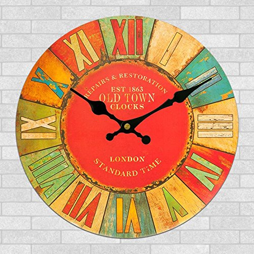 24 inch craft clock high-end craft stylish wall clock-style