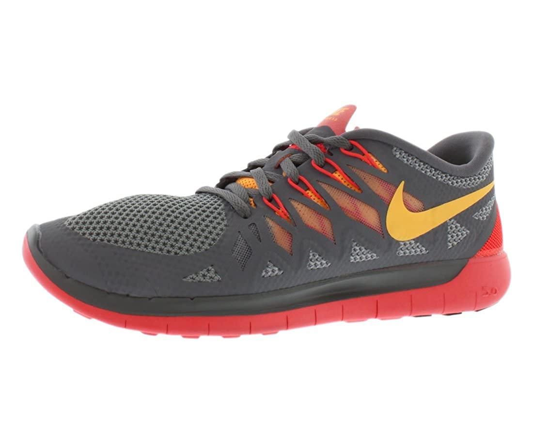 finest selection 22b8d 03293 Amazon.com  Nike Womens Free 5.0 Running Shoes. Size 5.5. COOL  GREY.ATOMIC MANGO-LASER CRIMSON-WOLF  Running