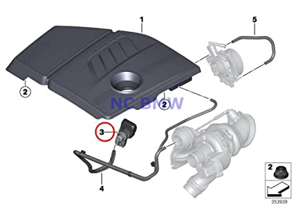 BMW Mini Turbocharger Boost Solenoid Valve (Pressure Converter) Coop.S JCW Cooper S