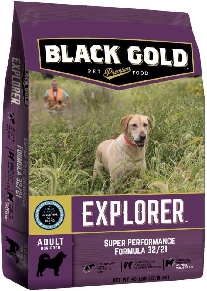 Black Gold Explorer Super Performance Recipe 32/21 Dry Dog Food