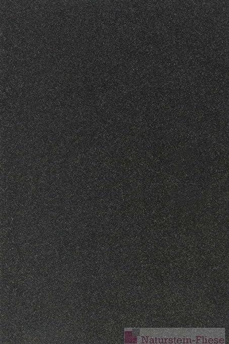 Piastrelle In Granito Nero Assoluto 60 X 40 X 1 Cm Lucide