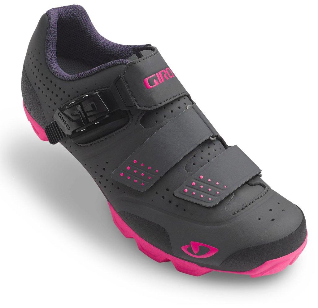 Giro Manta R Cycling Shoes - Women's Dark Shadow/Bright Pink 41.5 by Giro