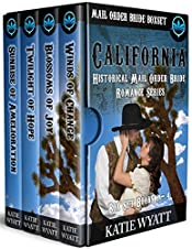 California  Mail Order Bride Box Set Books 1 - 4:  Historical Mail Order Bride Romance Series (California Historical Mail Order Bride Romance Series Book 9)