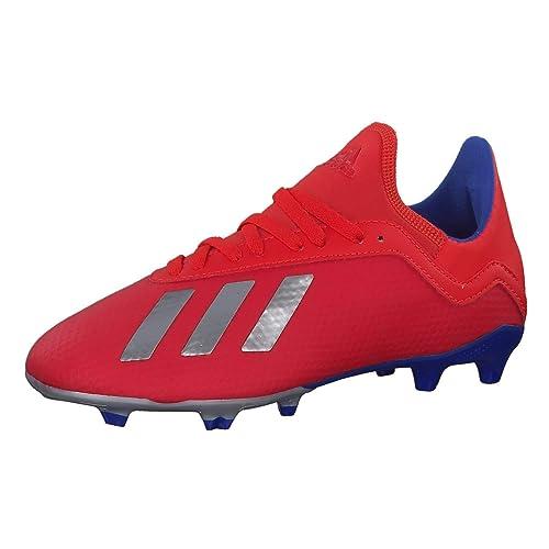 huge selection of 208f5 baea3 adidas Boys  X 18.3 Fg J Footbal Shoes