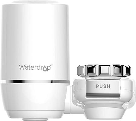 filtro de agua potable Filtro de grifo Waterdrop purificador de agua de larga duraci/ón para cocina filtro de montaje de grifo sistema de filtro de agua para grifo