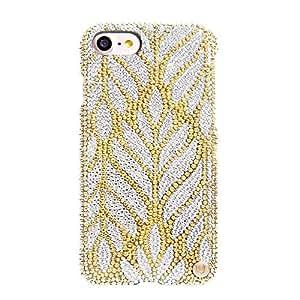 Uunique iPhone 8/7 Millionaire Swarovski Hard Shell Golden Palm