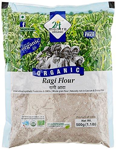 24 Mantra Organic Ragi Flour, 500g