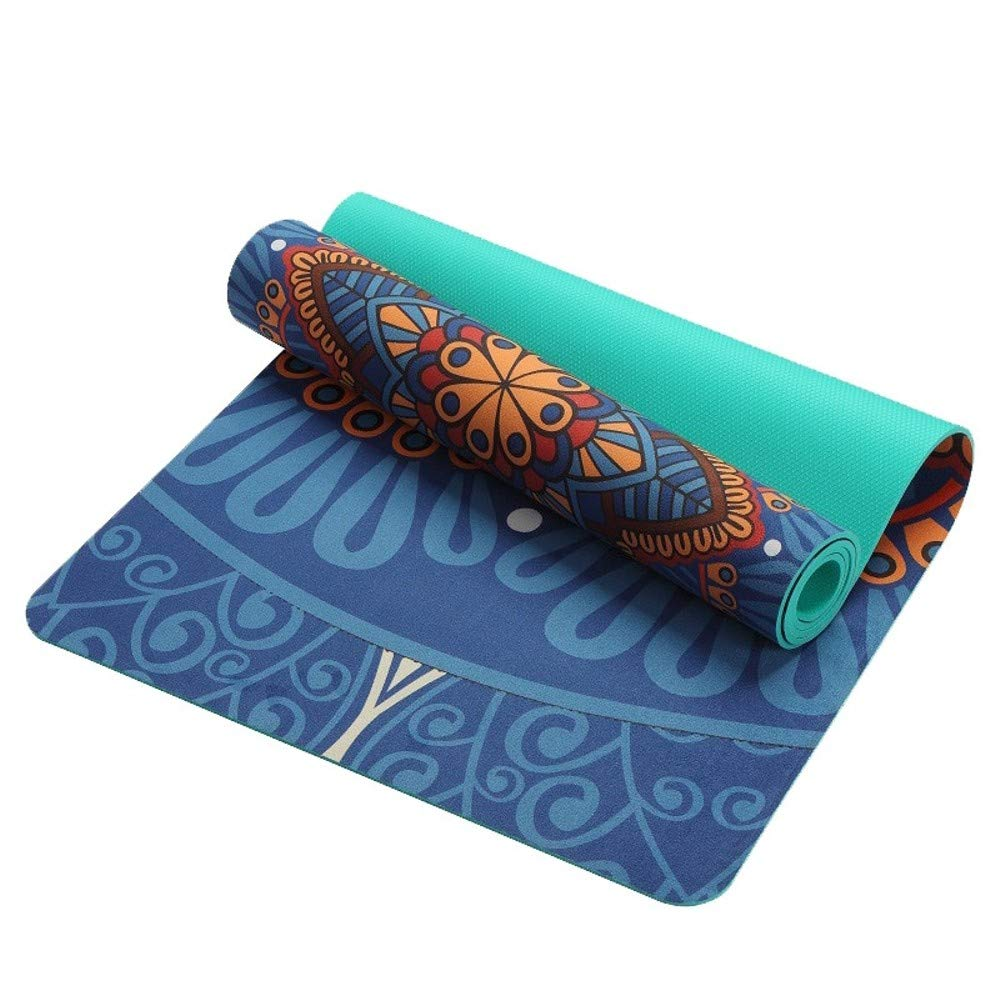 Amazon.com : HDz Store 5 MM Yoga Mat Pad Non-Slip Slimming ...