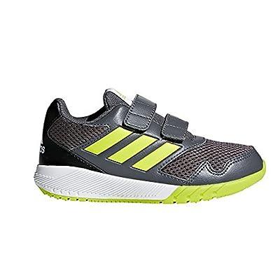 adidas Altarun Cloudfoam, Chaussures de Running Mixte Enfant, Blanc/Bleu, EU
